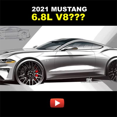 Featured Video: A 6.8L V8 in the Next-Gen Ford Mustang?